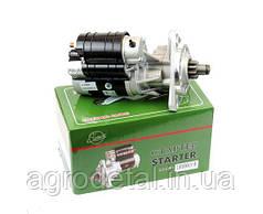 Стартер редукторный JUBANA 12 В, 2,7 кВт  для двигателей МТЗ-80, ЮМЗ-6, Т 16, Т 25, Т 40, погрузчики