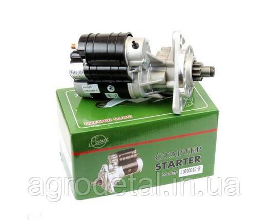 Стартер редукторный JUBANA 12 В, 2,7 кВт  для двигателей МТЗ-80, ЮМЗ-6, Т 16, Т 25, Т 40, погрузчики, фото 2