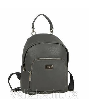 Рюкзак женский David Jones темно-серый, фото 2