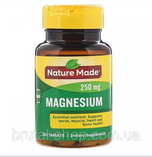 Nature Made Magnesium 250mg (100 tabs)