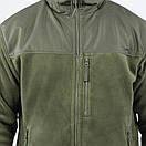 Оригинал Тактическая куртка флисовая Condor ALPHA Mirco Fleece Jacket 601 Medium, Чорний, фото 5