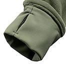 Оригинал Тактическая куртка флисовая Condor ALPHA Mirco Fleece Jacket 601 Medium, Чорний, фото 8