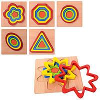 Логическая игра,деревянные вкладыши,деревянные пазлы