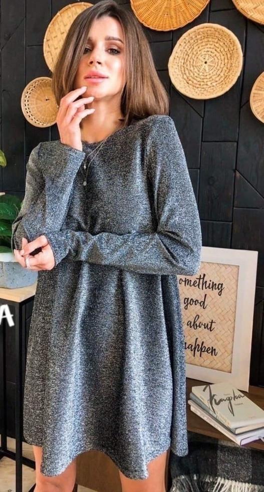 Платье из люрекса (IM-021)