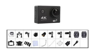 DVR SPORT Екшн камера з пультом S3R remote Wi Fi waterprof 4K Камера спортивна Екшн відеокамера, фото 2