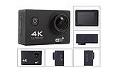 DVR SPORT Экшн камера с пультом S3R remote Wi Fi waterprof 4K Камера спортивная Экшн видеокамера, фото 4