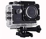 DVR SPORT Экшн камера с пультом S3R remote Wi Fi waterprof 4K Камера спортивная Экшн видеокамера, фото 5