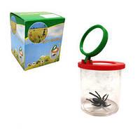 Контейнер для насекомых с увеличительным стеклом Д683у