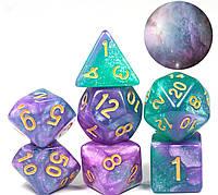 Кубики кости 7шт многогранные кубики ( №1 )