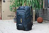 Качественный туристический рюкзак 80л., фото 9