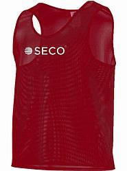 Манишка для футбола цвет: красный SECO