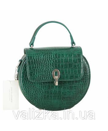Женская сумка David Jones зеленая, фото 2