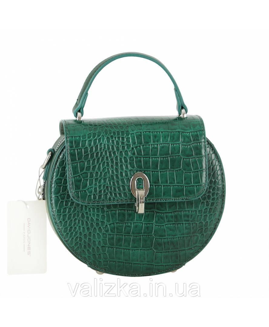 Женская сумка David Jones зеленая