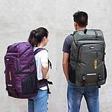 Качественный туристический рюкзак 80л., фото 6