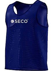 Манишка для футбола цвет: синий SECO