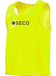 Манишка для футбола салатового цвета SECO
