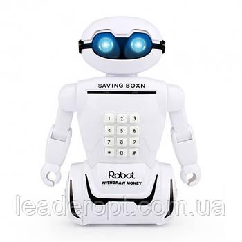 ОПТ Электронная копилка робот с кодовым замком Robot Piggy Bank