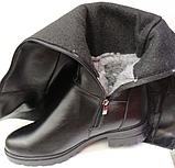 Ботфорты зимние женские большого размера от производителя модель ВБ88БФ, фото 6