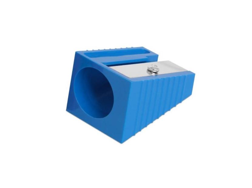 Точилка-корректор для наклейки синяя
