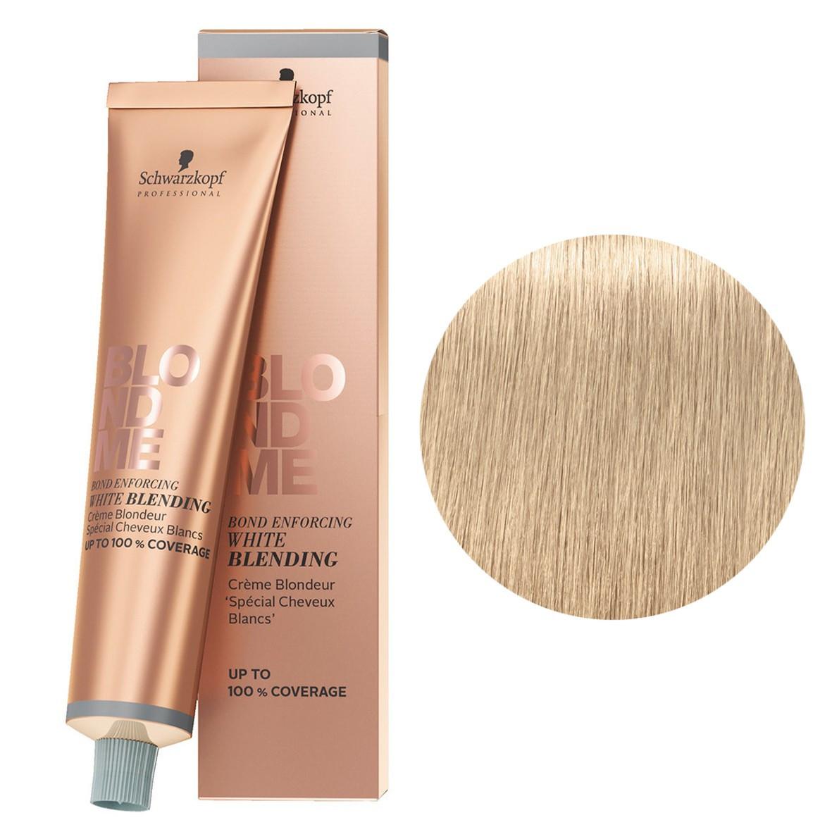 Бондинг-крем для седых волос Песок Schwarzkopf Blondme White Blending Sand 60 мл