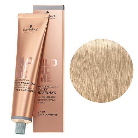 Бондинг-крем для седых волос Песок Schwarzkopf Blondme White Blending Sand 60 мл, фото 2