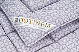 Одеяло 175х210 Двуспальное VALENCIA Сатиновое Зимнее Гипоаллергенное Полиэфирное волокно Теплое Мягкое, фото 3