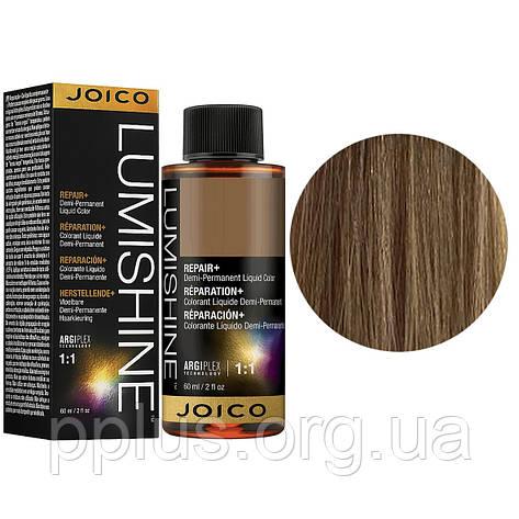 Жидкий тонер 8NG/8.03 Joico LumiShine Demi-Liquid блондин натуральный золотистый 60 мл, фото 2