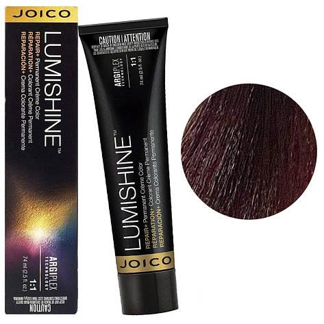 Краска для волос 3RR/3.66 Joico Lumishine Color темно-коричневый ярко-красный 74 мл, фото 2