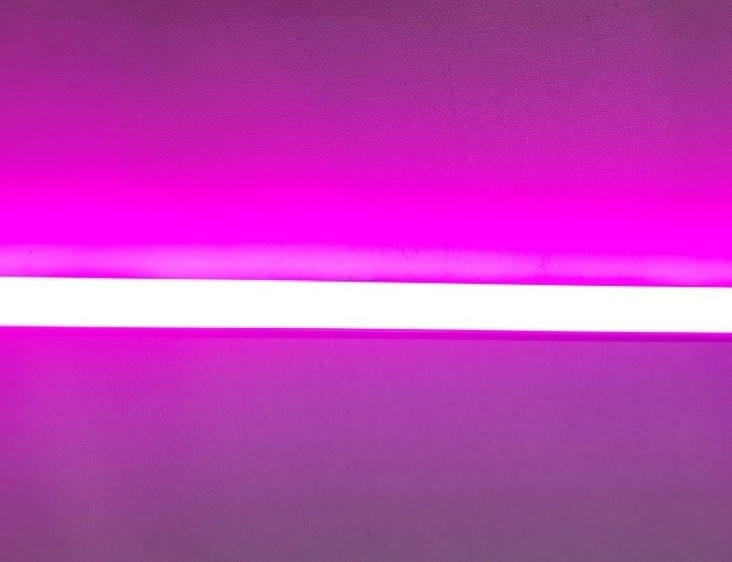 Фитолампа светодиодная Т8 -2835-1.2F 18W G13 IP20 (fito spectrum led) Код.58833
