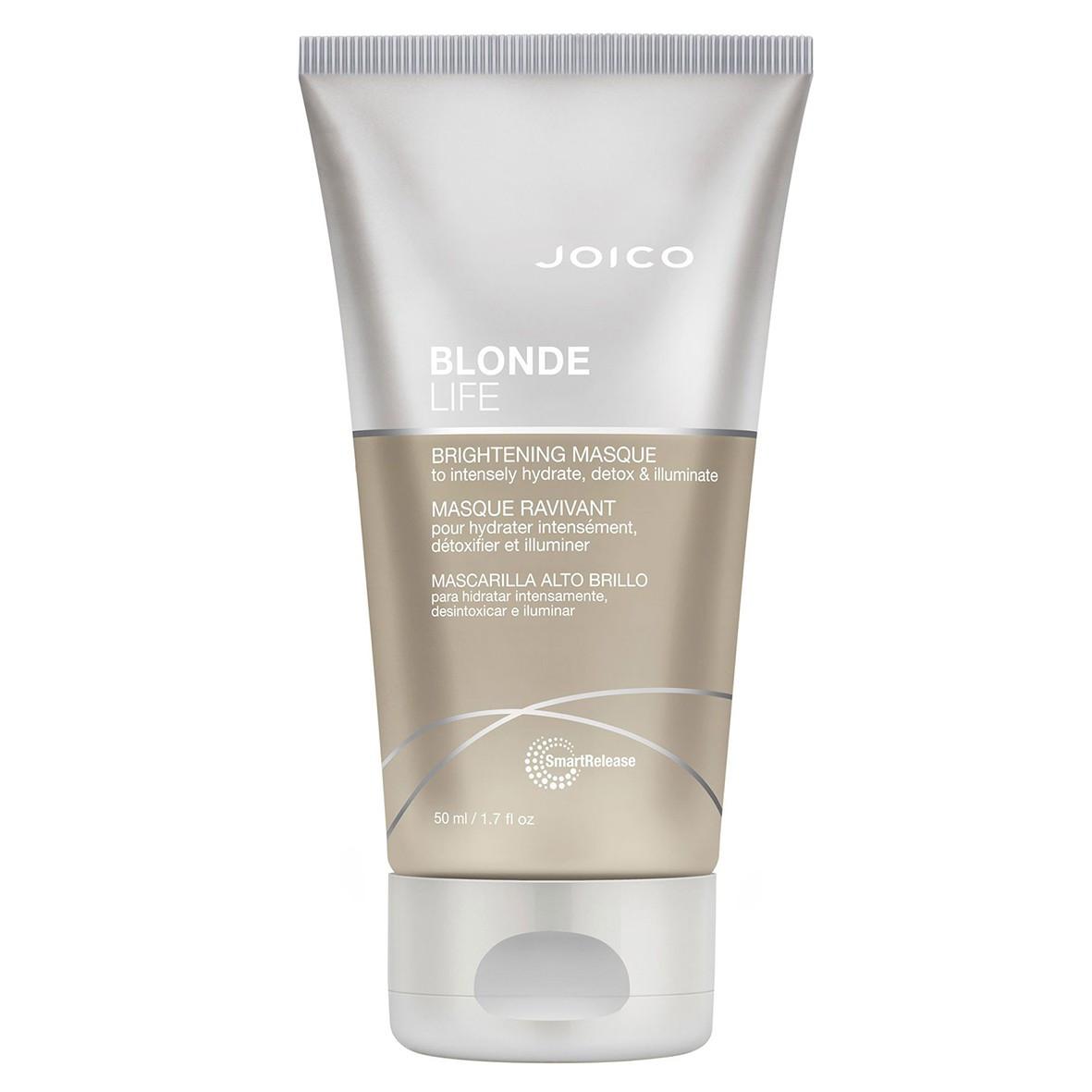 Маска для сохранения яркости блонда Joico Blonde Life Brightening Mask 50 мл