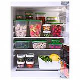 Харчовий контейнер, набір 17 шт., прозорий, зелений ІКЕА PRUTA ПРУТА, 601.496.73, фото 3