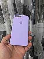 Чехол на айфон 8 плюс(Лаванда)накладка бампер силиконовый