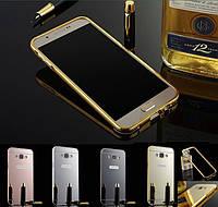 Чехол-бампер зеркальный для Samsung Galaxy A3 (A300) - Mirror cover 2 in 1 - Mirror cover 2 in 1