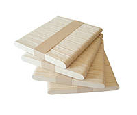 Деревянные палочки для мороженого 114*10*2 мм 50 шт.