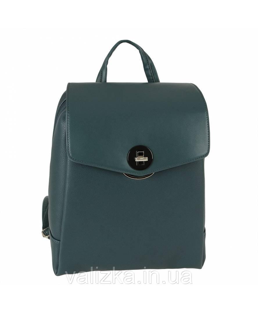 Рюкзак David Jones женский из экокожи синий