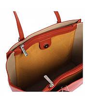 Женская сумка David Jones из экокожи нежно-фиолетовая, фото 2