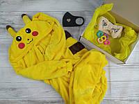 Пижама кигуруми Пикачу + подарочный набор