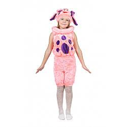 Карнавальный костюм ЛУНТИК РОЗОВЫЙ для детей 3-7 лет, рост 104-122 см
