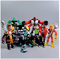 Игровой набор фигурок героев Ben 10 бен10 бентен 10-14 см + Свет #5