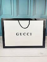Большой фирменный пакет в стиле Gucci Гуччи