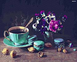 """Набір для розпису """"Кофе с макарунами"""" (GX31574)"""