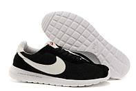 Кроссовки мужские беговые Nike Roshe Run (найк роше ран) черные 44