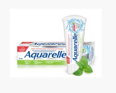 Зубная паста Aquarelle Thermal (75мл.) в ассортименте, фото 2