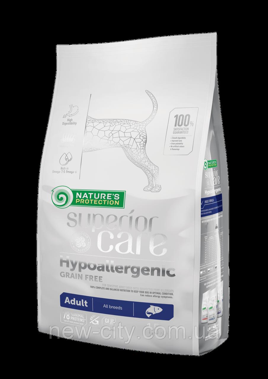 Корм Nature's Protection (Натур Протекшн) Superior Care Hypoallergenic Grain Free Adult All Breeds 1.5кг
