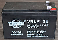 Аккумулятор 12V 9Ah Электро-Мобиль (151х65х100) DB12-9 (черный) TERRI