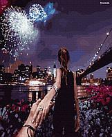 "Набір для розпису ПРЕМІУМ ""Следуй за мной. Феерверк нового года"" (PGX26286)"