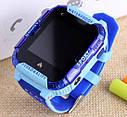 Детские Умные часы с GPS видеозвонком и 4G K22 Сине - голубые, фото 2