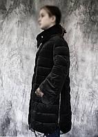 Тепла довга зимова куртка пальто, р. 46(євро), див. на виміри в ПОВНОМУ ОПИСІ товару!, фото 1