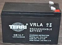 Аккумулятор 12V 7Ah Электро-Мобиль (151х65х100) DB12-7 (черный) TERRI