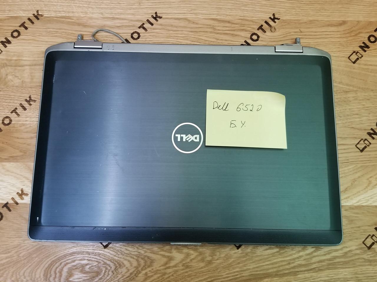Крышка матрицы для ноутбука Dell Latitude E6520 с антеннами ОРИГИНАЛ